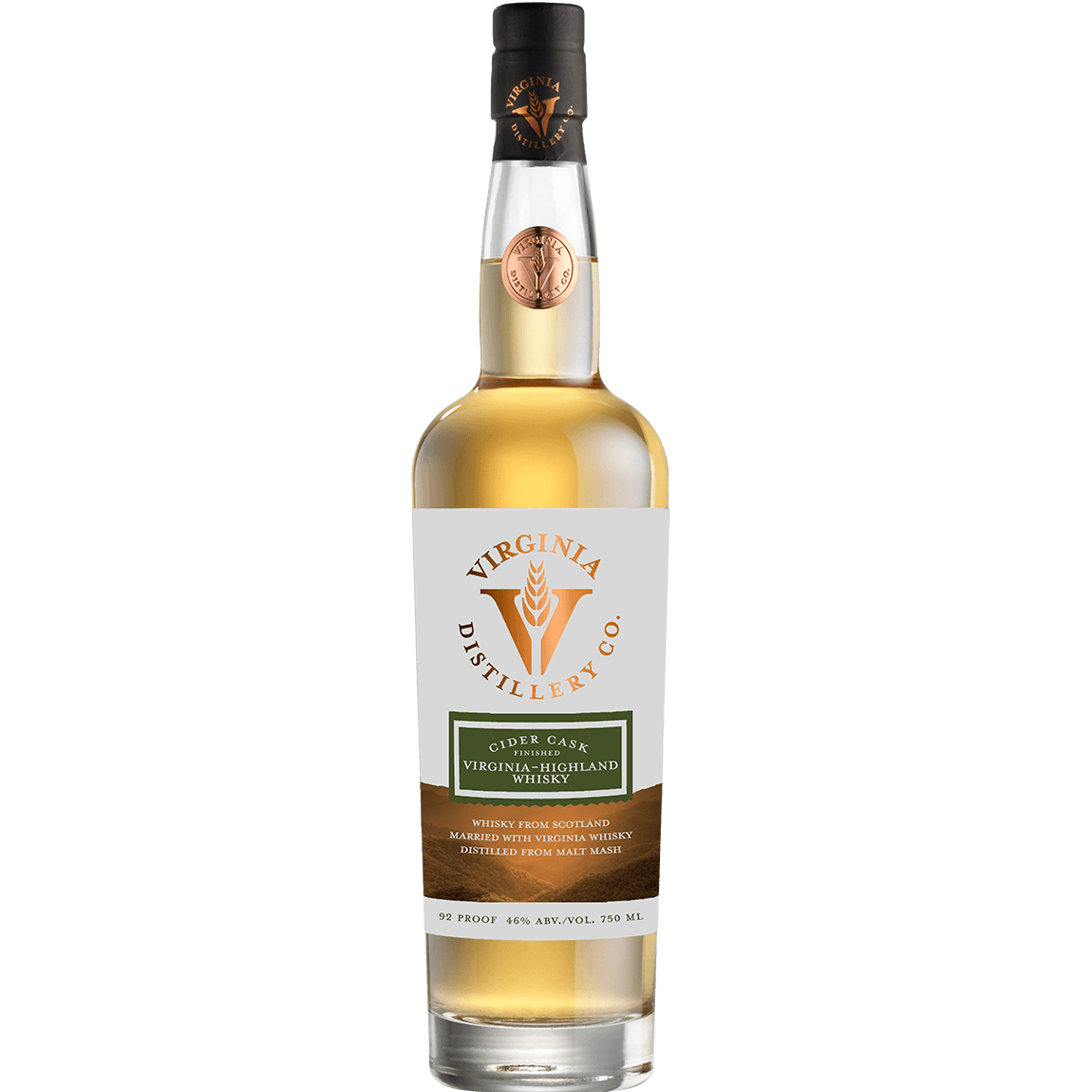 Cider Cask Finished Virginia-Highland Whisky